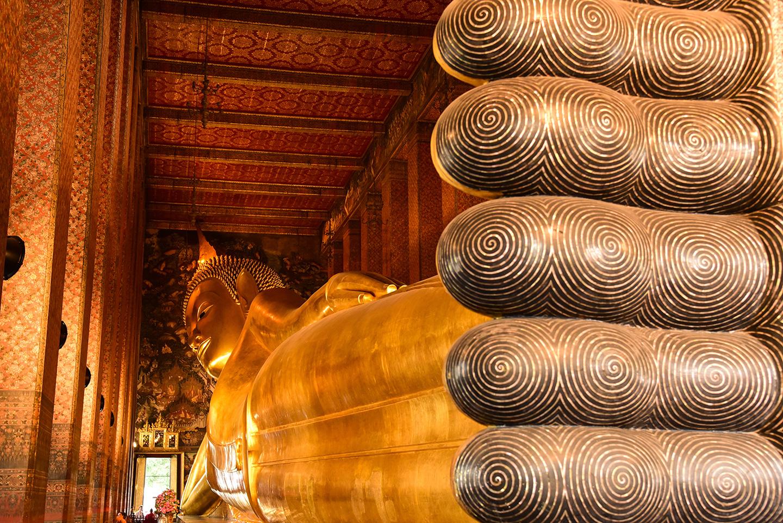 Visita al Tempio di Wat Pho Bangkok Thailandia